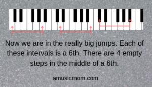 Interval 6ths Keyboard
