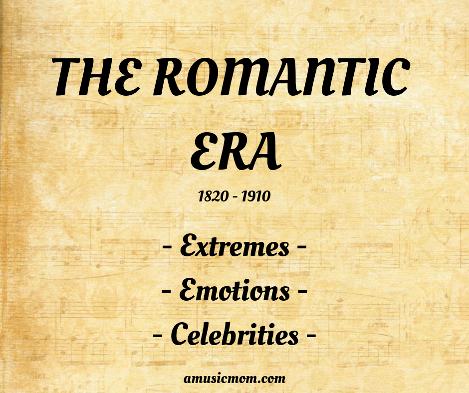 Summary of the Characteristics of the Romantic Era