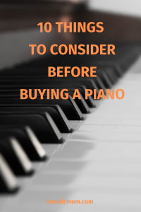 Do you know what to look for when buying a piano?