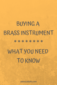 Buying a Brass Instrument