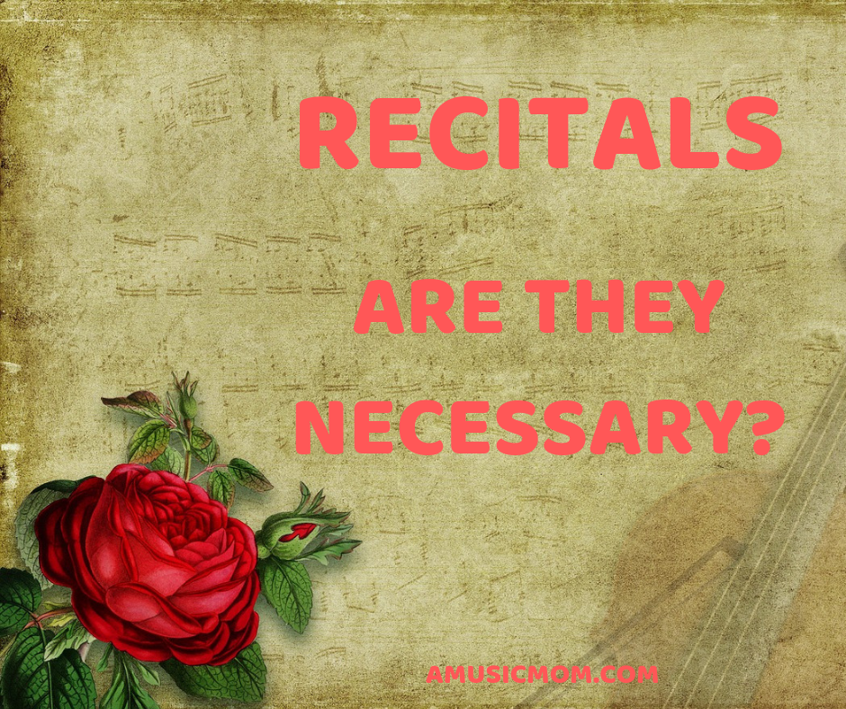 Recitals - are they necessary?