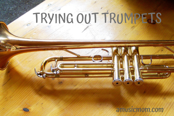 Trying Out Trumpets