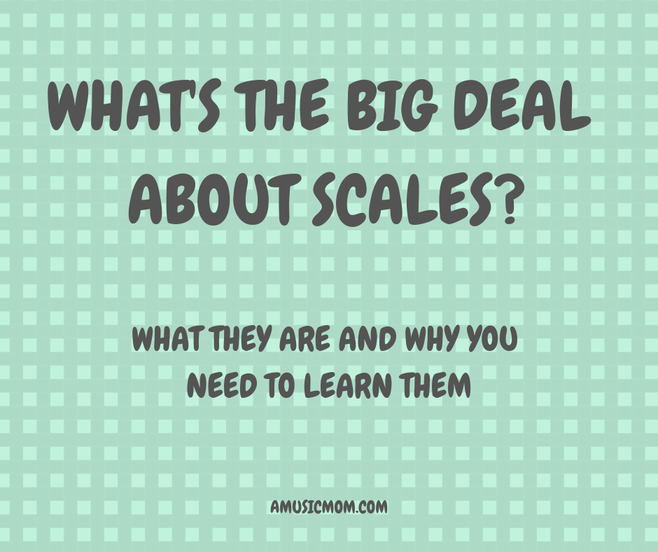 What's the Big Deal about Major Scales?