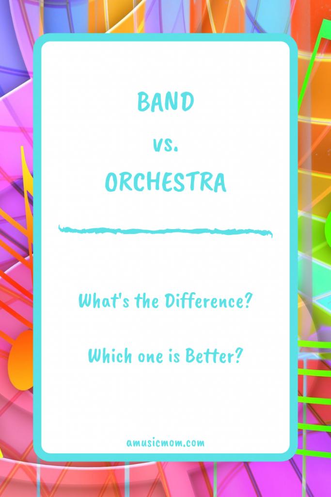 Band vs. Orchestra