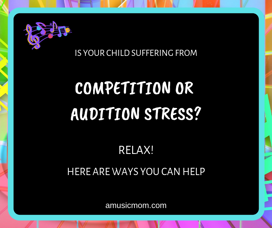 Competition or Audition Stress