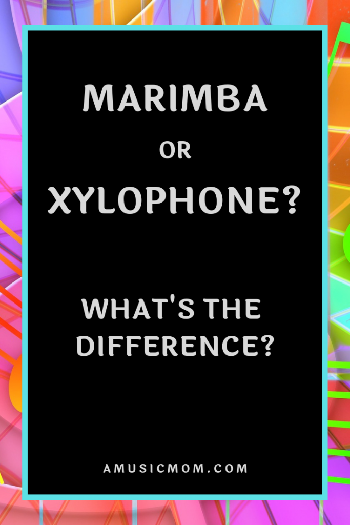 Do you know the difference between a marimba and a xylophone? Do you know what a marimba is?