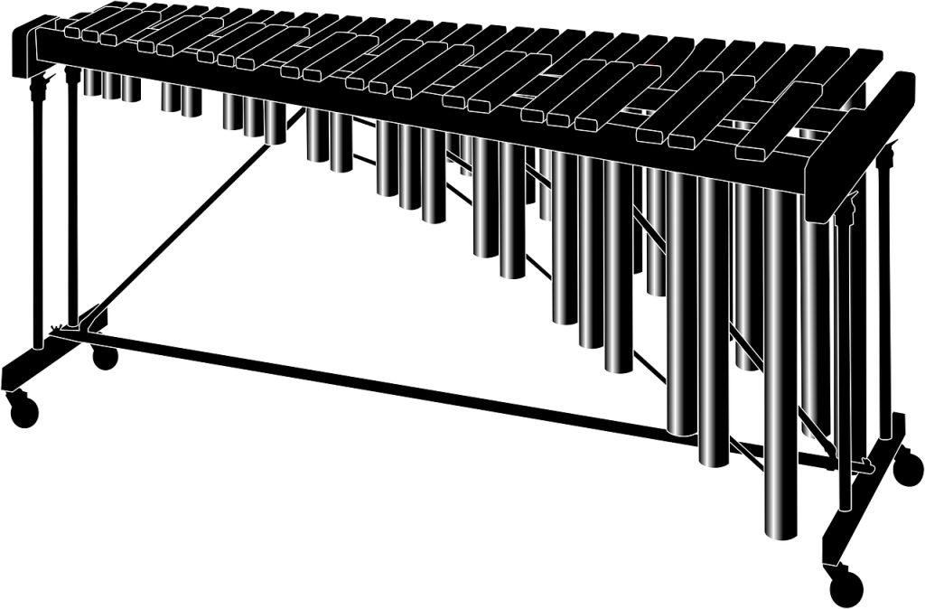 This is a picture of a marimba.