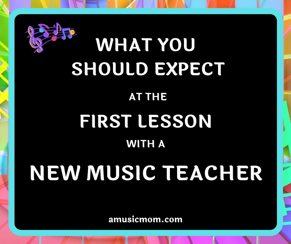 What to Expect from the First Lesson with a New Music Teacher
