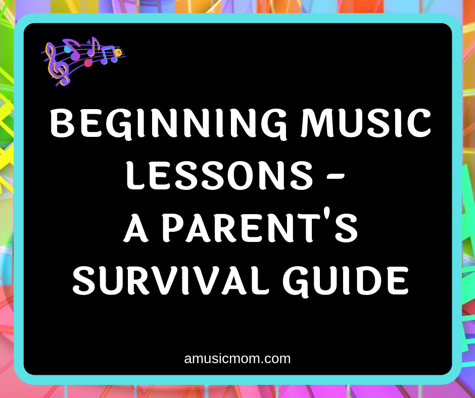 Suggestions for surviving beginning music lessons