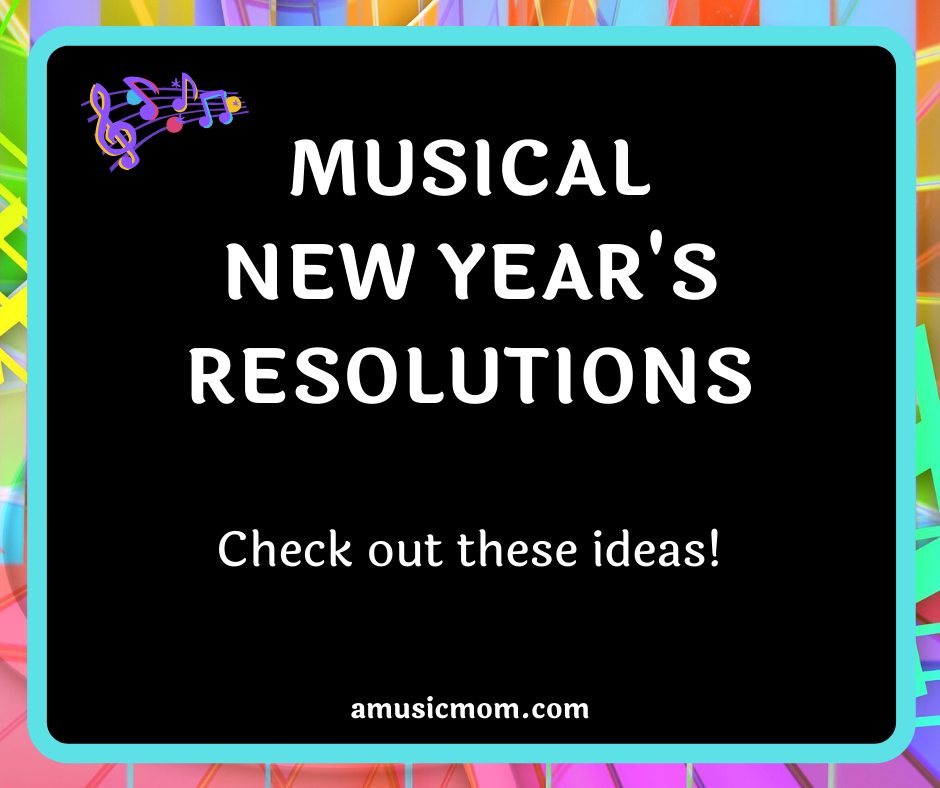 Musical New Year's Resolutions