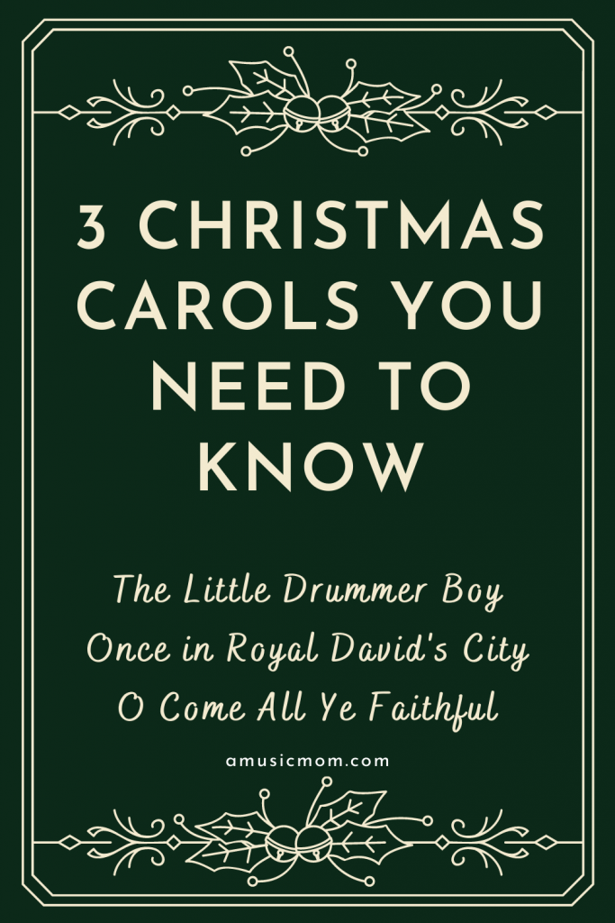 3 Christmas Carols You Need to Know