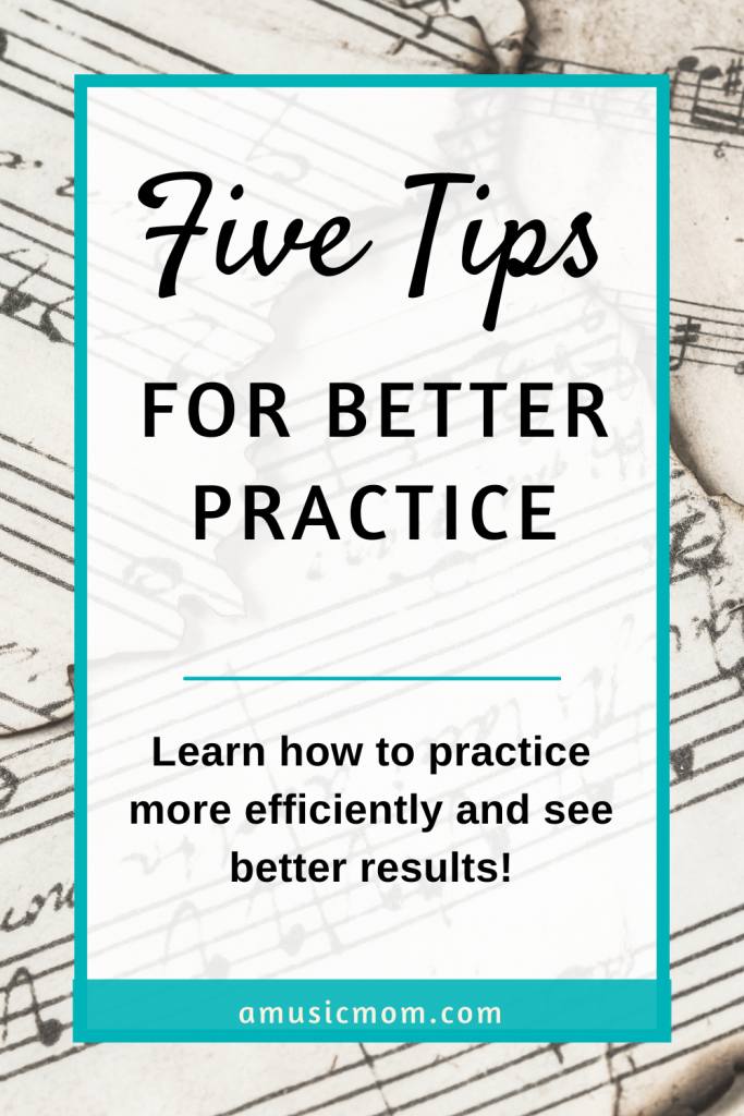 Learn to practice more efficiently